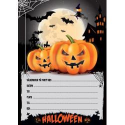 Inbjudningskort Halloween