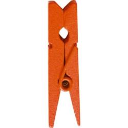 Miniklädnypor Orange 3,5 cm
