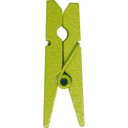 Miniklädnypor Lime 3,5 cm