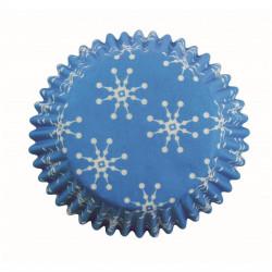 Bakformar Ljusblå med snöflinga