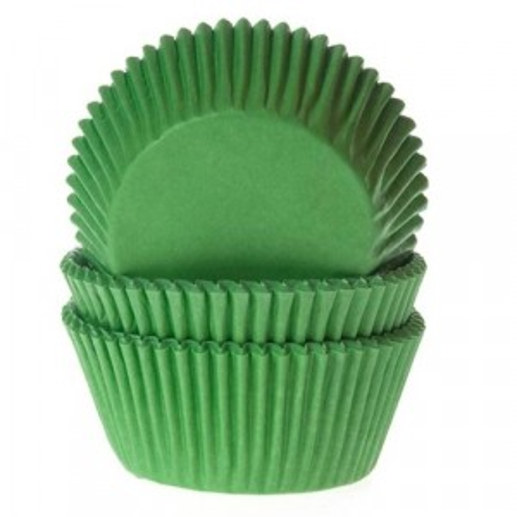 Muffinsformar Grön