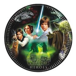 Star Wars & Heroes Tallrikar