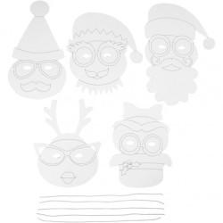 Julmasker 16 st