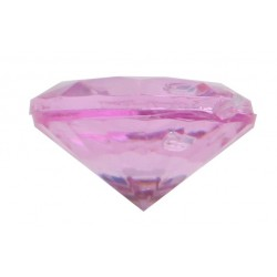 Diamantkonfetti Hot Pink