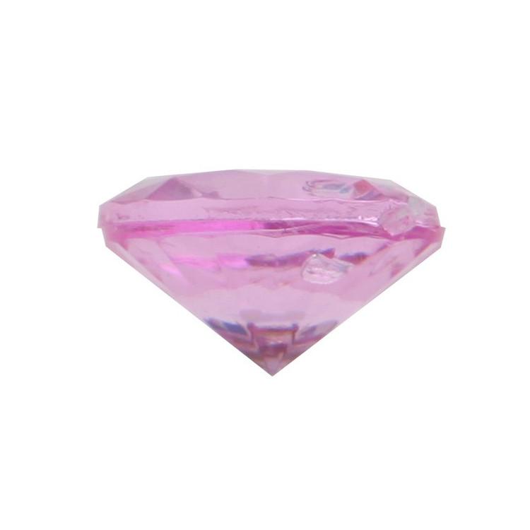 Diamantkonfetti Hot Pink