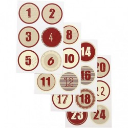Kalendersiffror 1-24