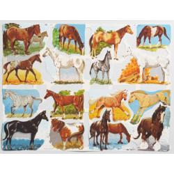 Bokmärken Hästar