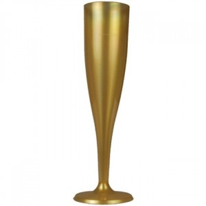 Champagneglas Guld 6-pack