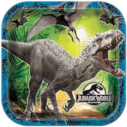 Jurassic World Tallrikar