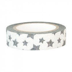 Tape Star Silver
