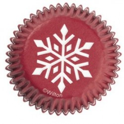 Minibakformar Snöflinga