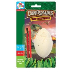 Dinosaurie Fossil Utgrävning