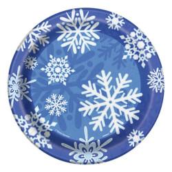 Assiett Snöflingor
