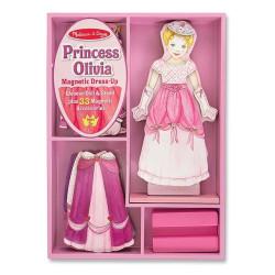 Magnet ress-Up Prinsessa