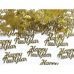Konfetti Nyår Guld