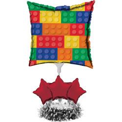 Bordsdekoration Folieballong Lego