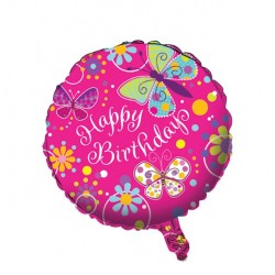 Folieballong Fjäril