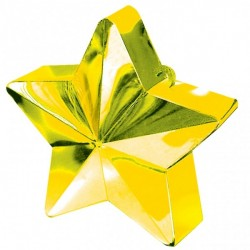 Ballongtynd Stjärna Guld