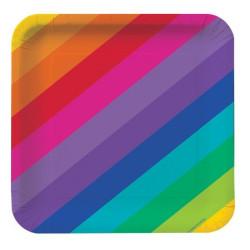 Tallrik Rainbow