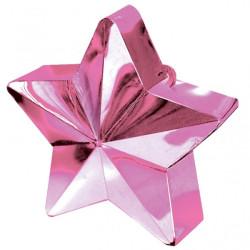 Ballongtyngd Stjärna Rosa