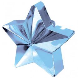 Ballongtyngd Stjärna Ljusblå