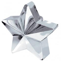 Ballongtyngd Stjärna Silver