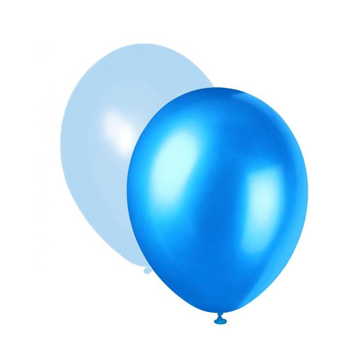 Blå Mix Ballonger