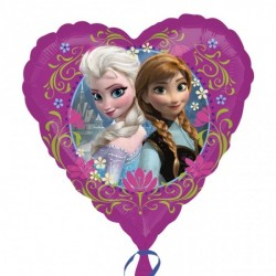 Folieballong Hjärta Frost