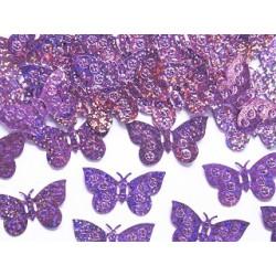 Konfetti Fjärilar Rosa