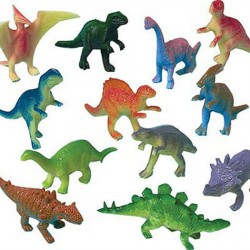 Plastdjur Dinosaurier