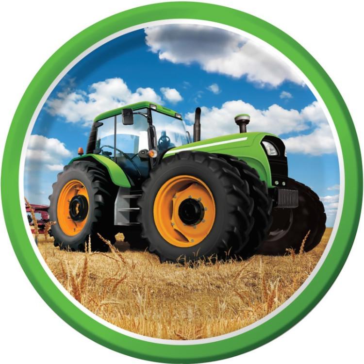 Tallrikar Traktor