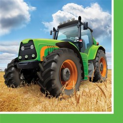 Kaffeservetter Traktor HB