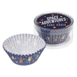Muffinsformar Vintage Rymd