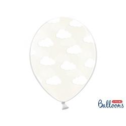 Ballonger Transparent med Moln