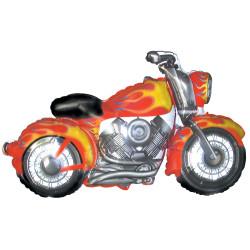 Folieballong Motorcykel