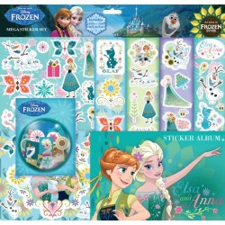 Frost Fever Mega Kit Stickers med album