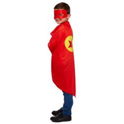 Superhjälte Cape och Mask