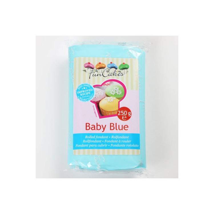 Sockerpasta, Sugarpaste Babyblå