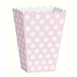 Godisbox Rosa Dots