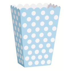 Godisbox Ljusblå Dots