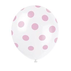 Ballonger Rosa Prickar