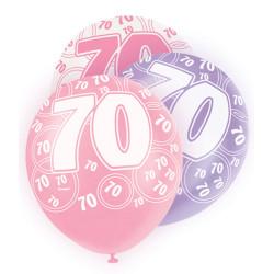Ballong Pink 70 år