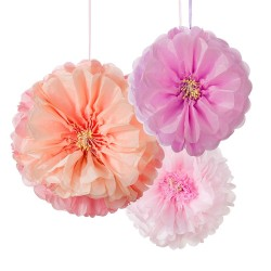 Dekorationsbollar Blommor