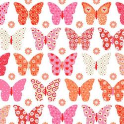 Kaffeservetter Fjärilar