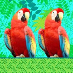 Servetter Papegoja