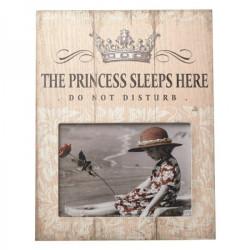 Skylt med ram Prinsessa