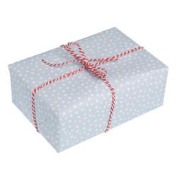 Presentpapper prickigt Blå