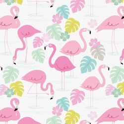 Presentpapper Flamingo Bay