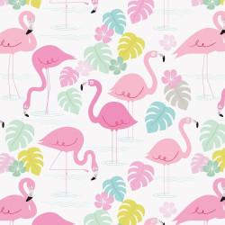 Presentpapper Flamingo Bay