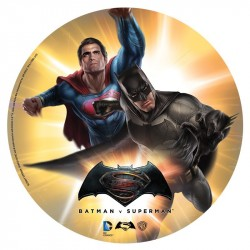 Tårtoblat Batman-Superman